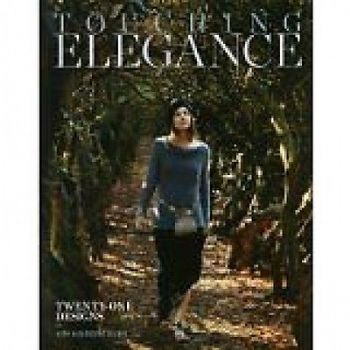 TOUCHING ELEGANCE by KIM HARGREAVES knitting pattern book